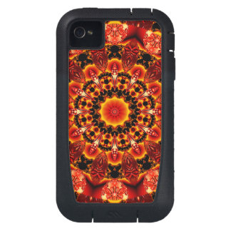 Firewalk, Abstract Spiritual Quest in Flames iPhone4 Case