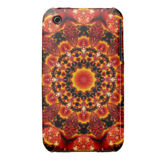 Firewalk, Abstract Spiritual Quest in Flames iPhone 3 Cases