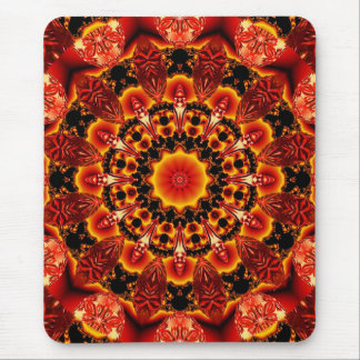 Firewalk, Abstract Spiritual Quest in Flames Mouse Pad