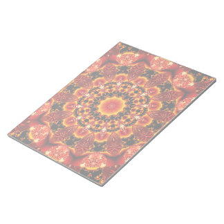 Firewalk, Abstract Spiritual Quest in Flames Notepad