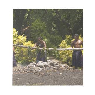 Firewalkers, centro cultural polinesio, Viti Libreta Para Notas