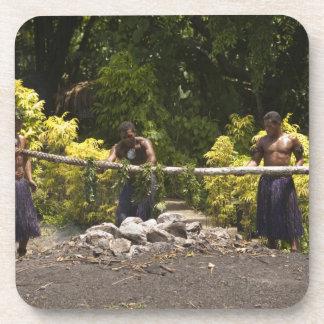 Firewalkers, centro cultural polinesio, Viti Posavasos De Bebida