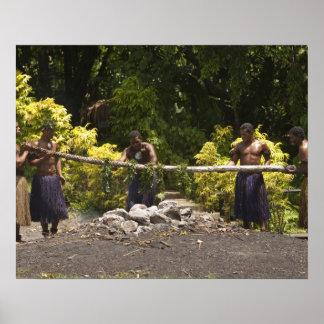 Firewalkers, centro cultural polinesio, Viti Póster