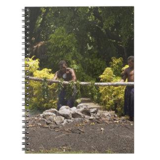 Firewalkers, Polynesian Cultural Center, Viti Spiral Note Books