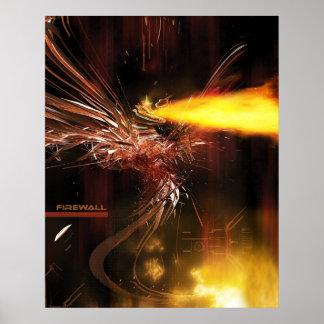 Firewall by Lightform Poster