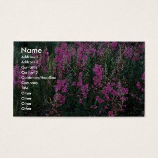 Fireweed Business Card