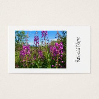 Fireweed del Yukón Tarjetas De Visita