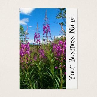 Fireweed del Yukón Tarjetas De Visita Grandes
