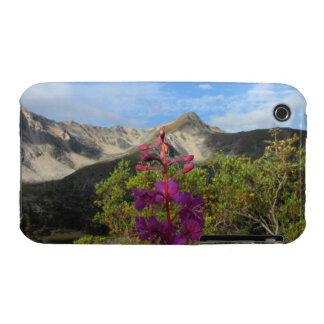 Fireweed en las montañas de Pelly Funda Bareyly There Para iPhone 3 De Case-Mate
