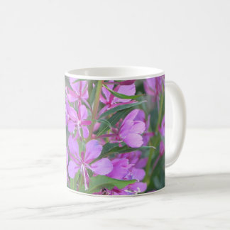 Fireweed flower mug