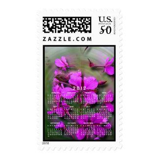 Fireweed in a Hurricane; 2012 Calendar Postage