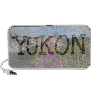 Fireweed in the Pelly Mountains; Yukon Souvenir iPod Speaker