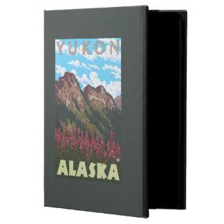 Fireweed & Mountains - Yukon, Alaska Cover For iPad Air