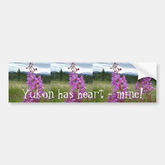 Fireweed Pair Car Bumper Sticker