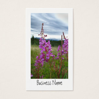 Fireweed Pair Business Card