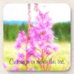 Fireweed soñador; Personalizable Posavasos