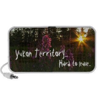 Fireweed Sunset; Yukon Territory Souvenir Mp3 Speaker