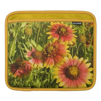 Firewheels Gaillardia pulchella) wildflowers Sleeve For iPads