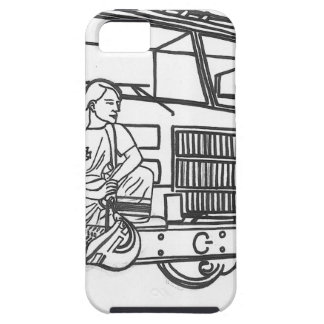 Firewoman Case For iPhone 5/5S