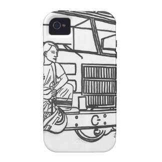 Firewoman Case-Mate iPhone 4 Covers