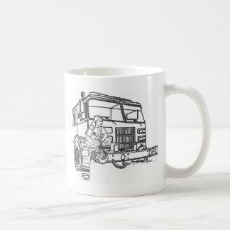 Firewoman Coffee Mug