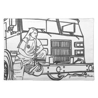 Firewoman Mantel
