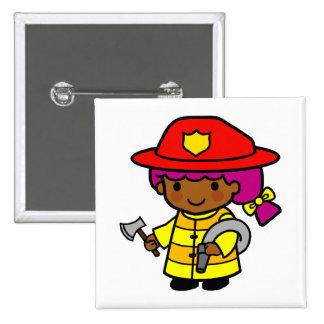 Firewoman Pin