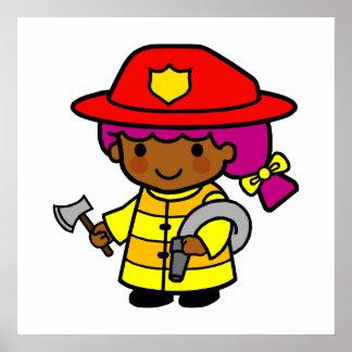 Firewoman Poster