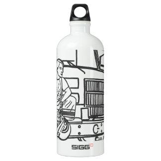 Firewoman Water Bottle