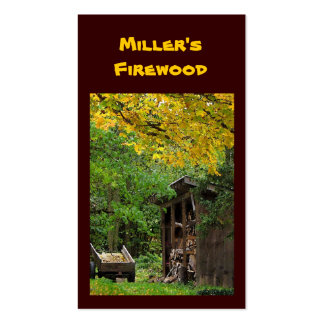 Firewood Business Cards