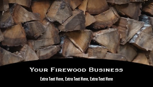 Firewood business cards templates zazzle firewood business card colourmoves