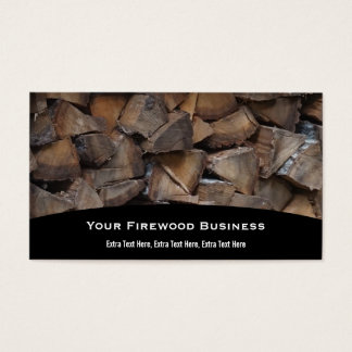 Firewood Business Card