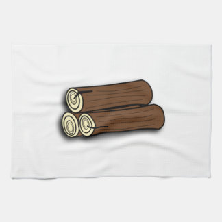 Firewood Logs Kitchen Towel