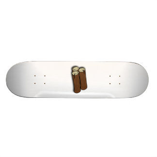 Firewood Logs Custom Skateboard