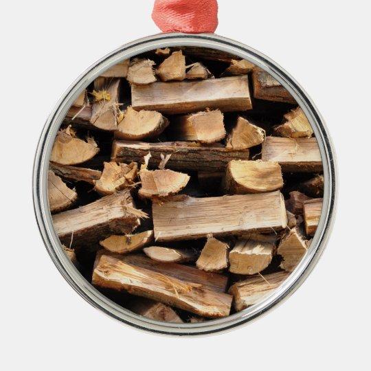Firewood Ornament