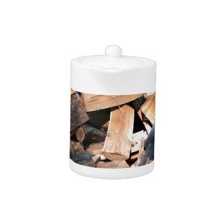 firewood teapot