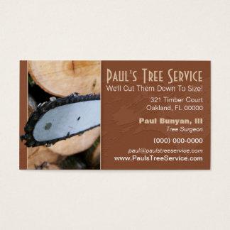 Firewood/Tree Service Business Card
