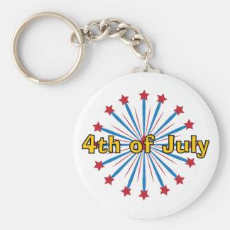 Firework_4th Of July Keychain