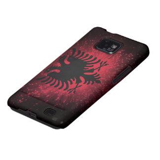 Firework; Albania Flag Galaxy SII Cover