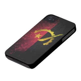Firework; Angola Flag Case-Mate iPhone 4 Cases