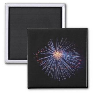 Firework Blue magnet