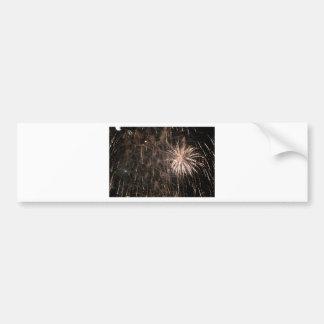 Firework Bumper Sticker