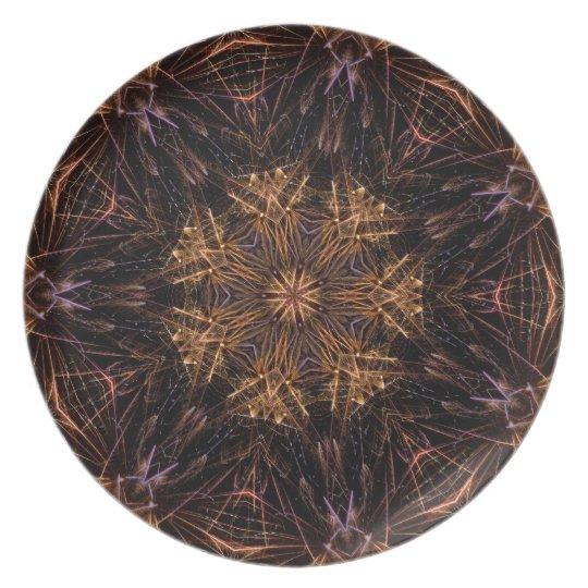 Firework Dinner Plate