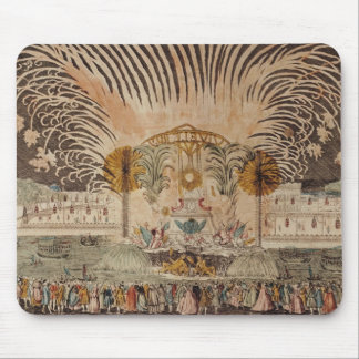 Firework Display in the Place Louis XV Mouse Pad