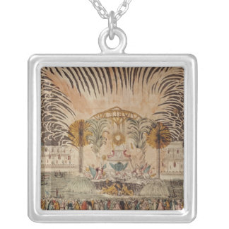 Firework Display in the Place Louis XV Custom Necklace