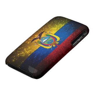 Firework; Ecuador Flag Case-Mate iPhone 3 Case