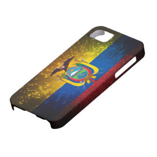 Firework; Ecuador Flag iPhone SE/5/5s Case