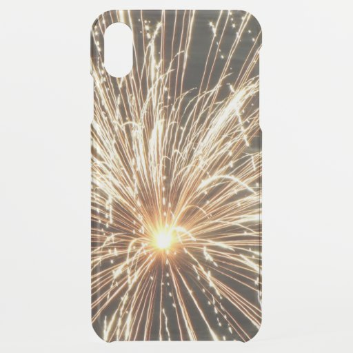 Firework Explosion Sparks iPhone XS Max Case