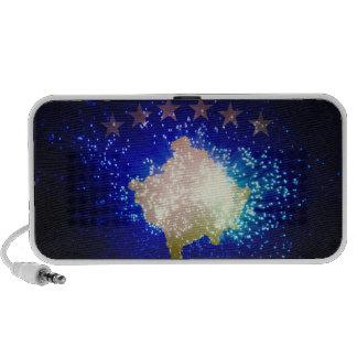 Firework; Kosovo Flag Travelling Speakers