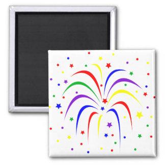 Firework magnet